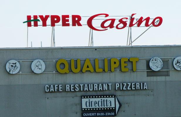 Conception maquettes et plans pour Hyper et Super Casino-Suisse - Pour 44enseignes - Nantes