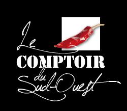 Création de l'identité visuelle - Le COMPTOIR du SUD-OUEST - Poitiers