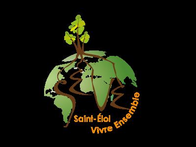 Création logo et charte graphique de SEVE- MAISON de QUARTIER de Saint-Éloi - Poitiers