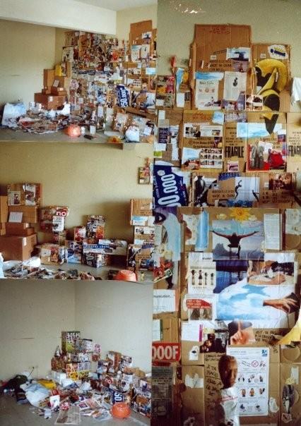mur d'image mis en boite FdF 2000