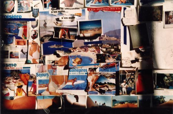 """""""L'intermédiaire"""" mur d'images 1999"""