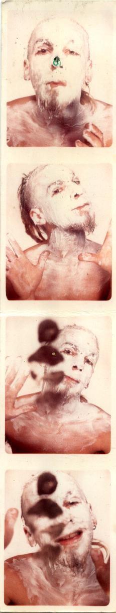"""oui maman j'ai bien mis ma crème"" photomaton 1998"