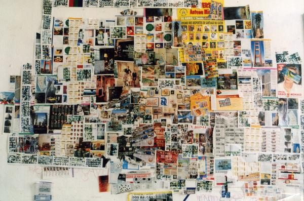 """murs d'images"" collages atelier 1999"
