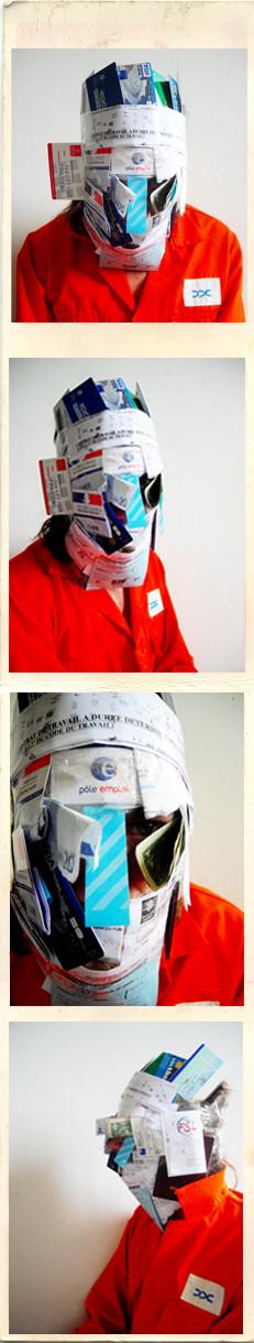 """""""Cents papiers"""" photomaton"""