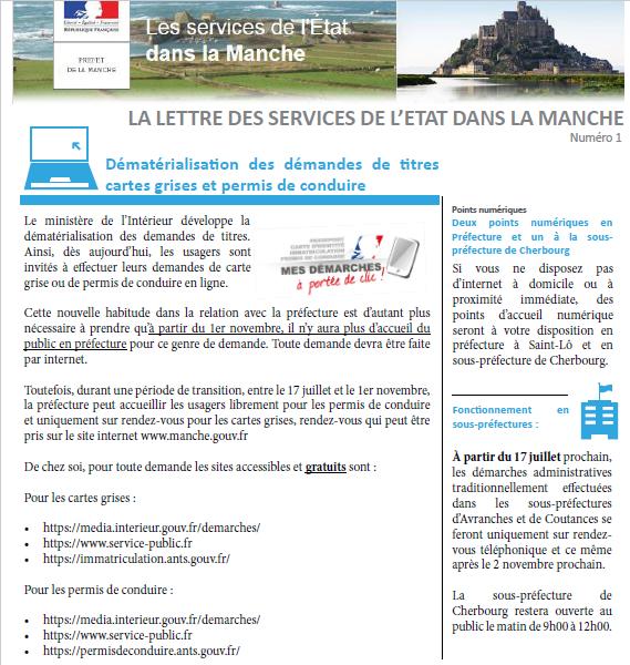 Démarches administratives - Commune de Remilly les Marais