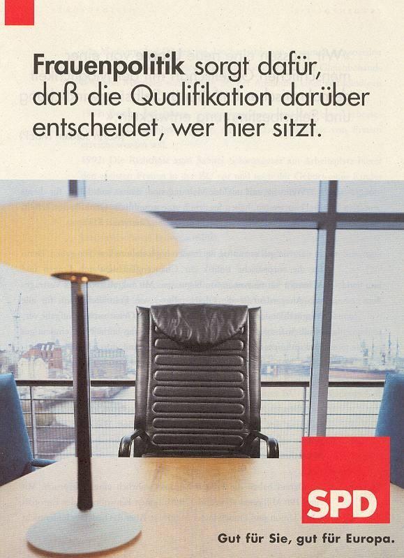 "Wahlkampfbroschüre ""Gleichberechtigung"""