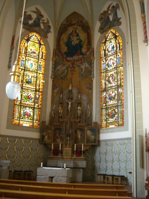 Innenansicht der Klosterkapelle
