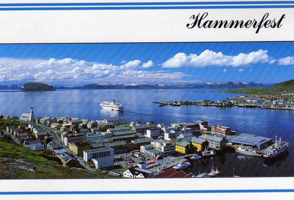 Hammerfest Postkarte