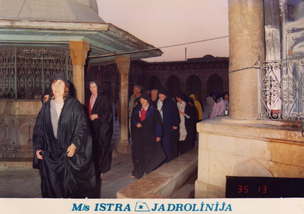 Omajaden Moschee (Kopf von ´Vater des Johannes)