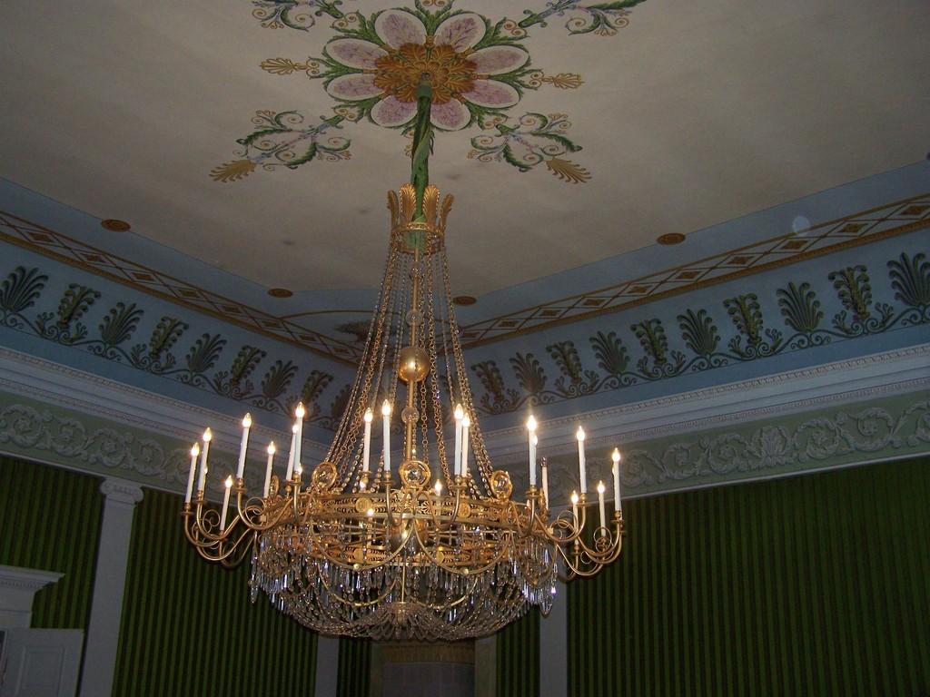 Kronleuchter im Vortrag- oder Musiksaal