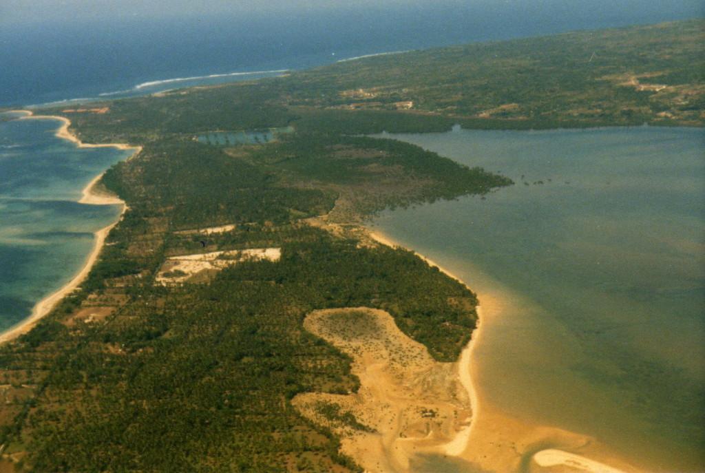 Blick auf Borneo