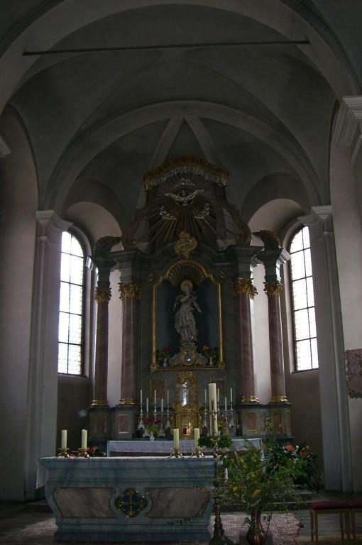 Miltenberg Dom Innenansicht