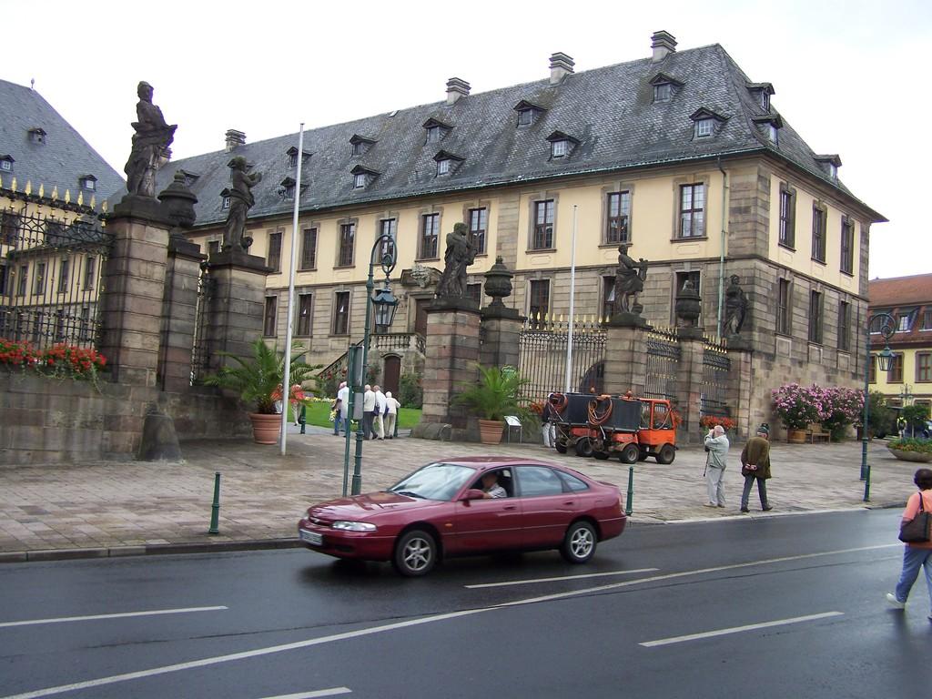 Fulda Sommerresidenz der Fürstbischöfe - Schloss