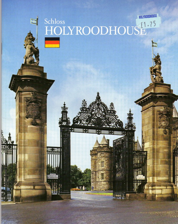 Edinburg Hollyrood Palasteingang