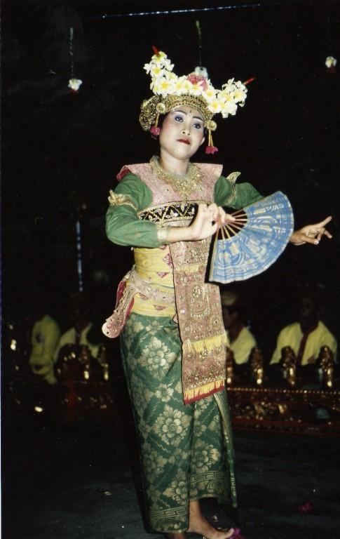 Balinesische Tänzerin
