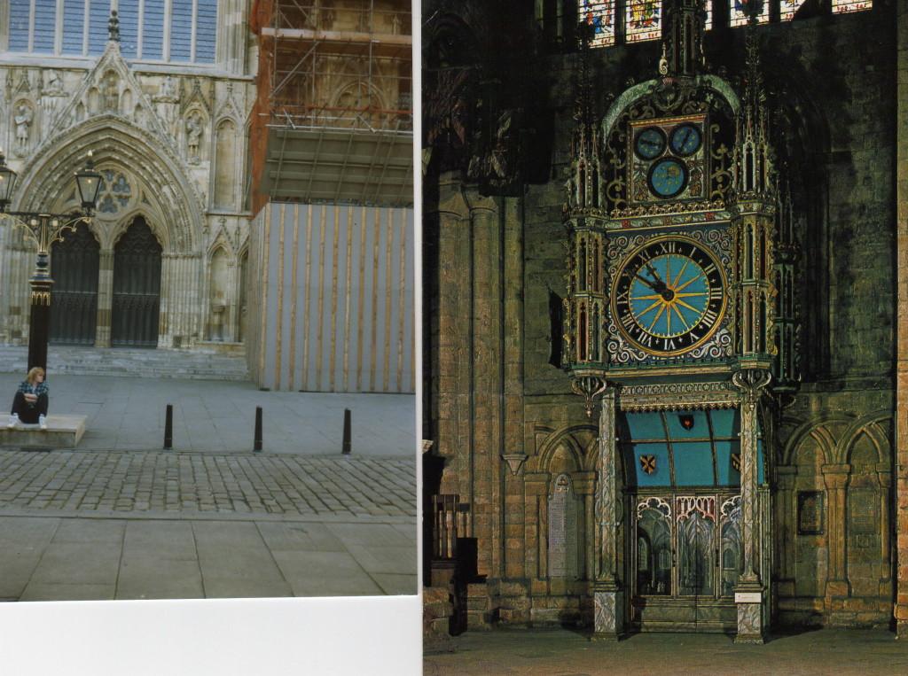 Durham Eingang Kathedrale