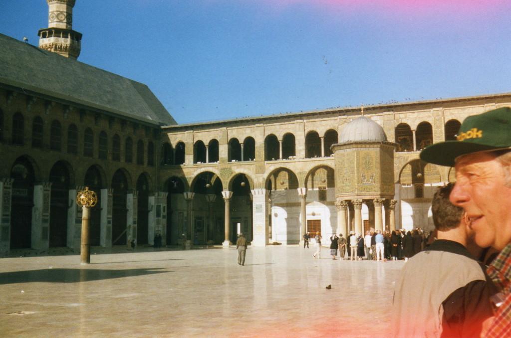 Omajaden Moschee Brunnen