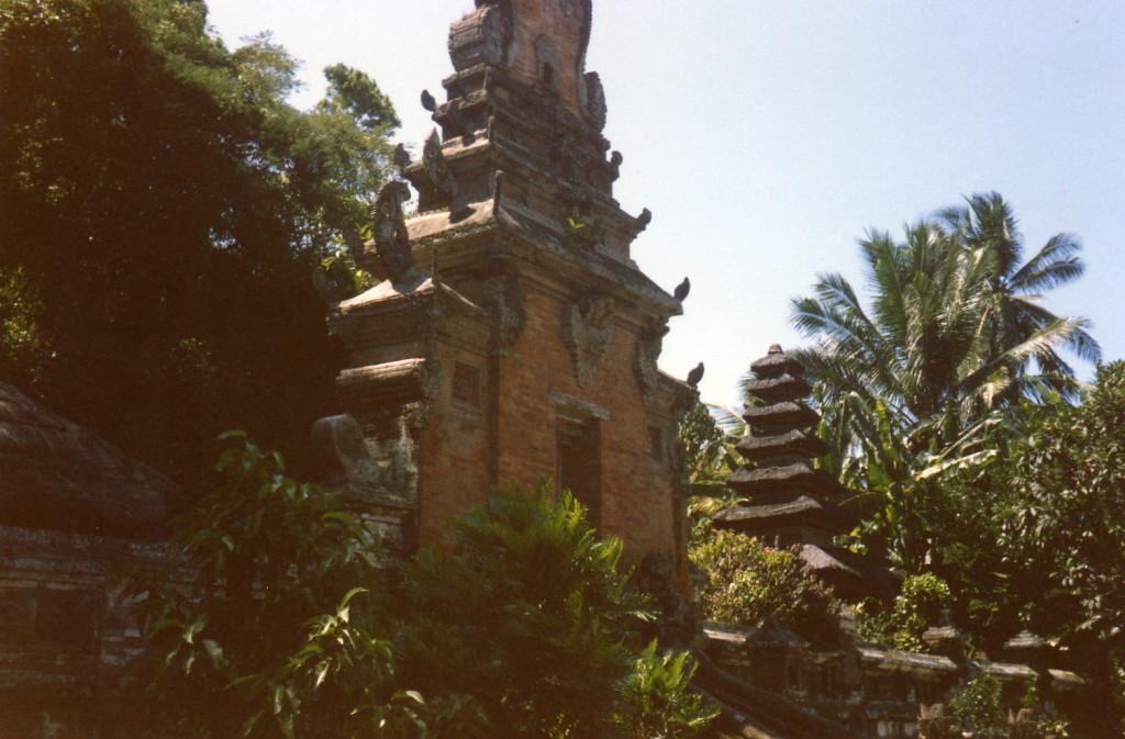 Batur Tempel Eingang