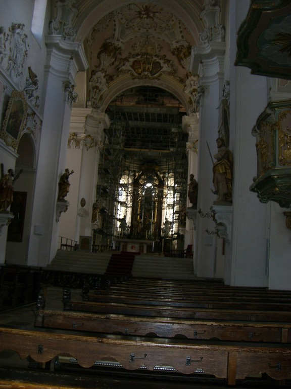 Ellwangen St. Vitus Altarraum