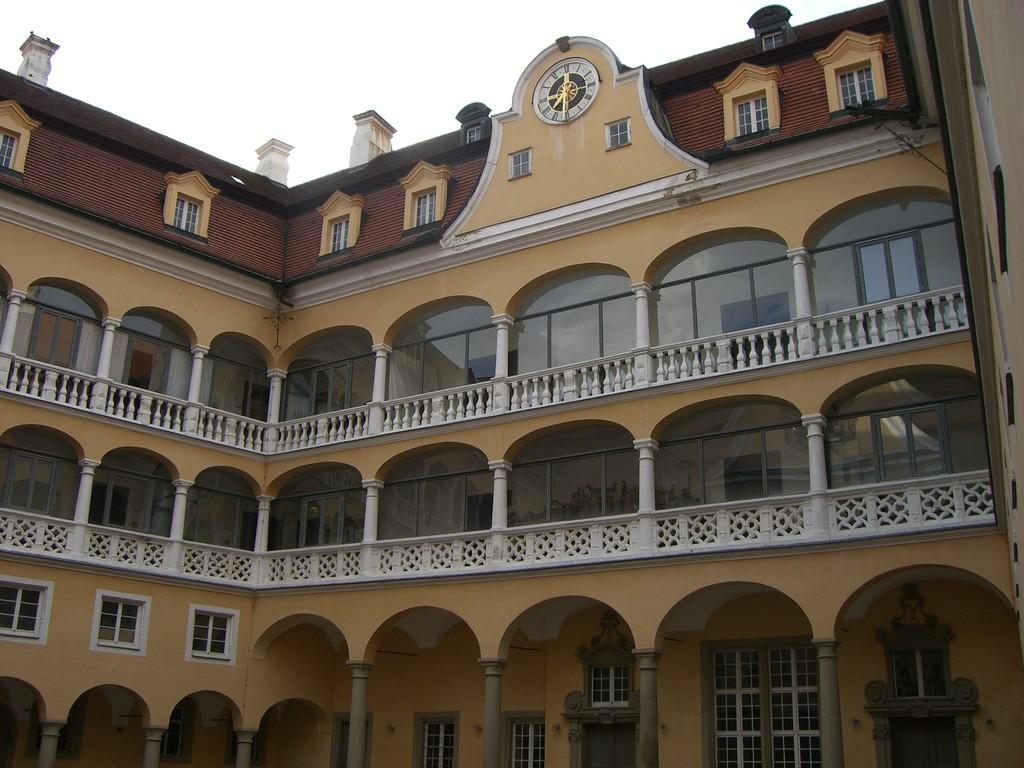 Ellwangen Schloßhof
