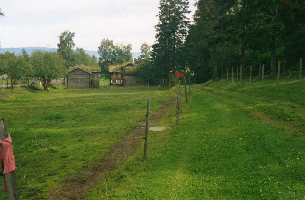 Blick zurück Dorfmuseum