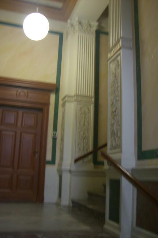 ein wunderschönes Treppenhaus