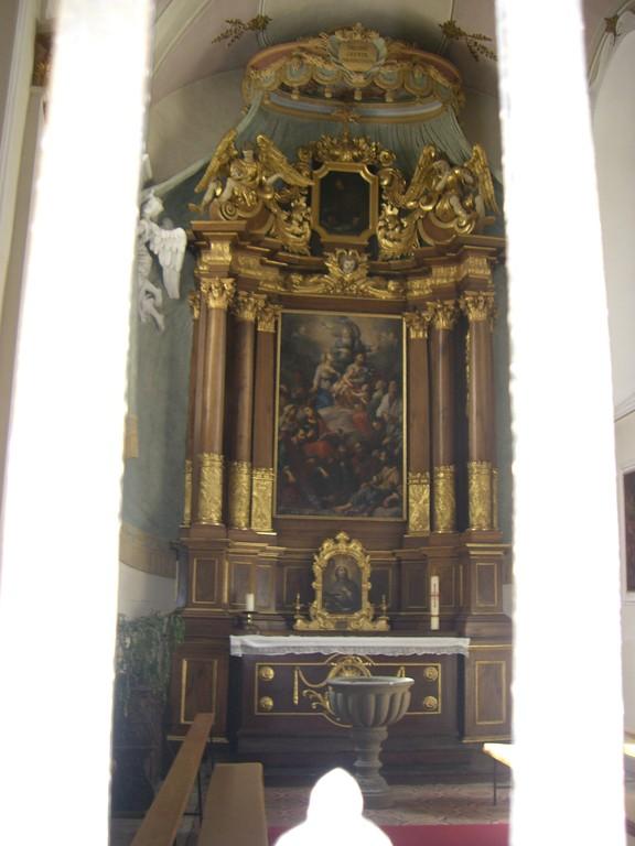 St. Vitus Seitenaltar