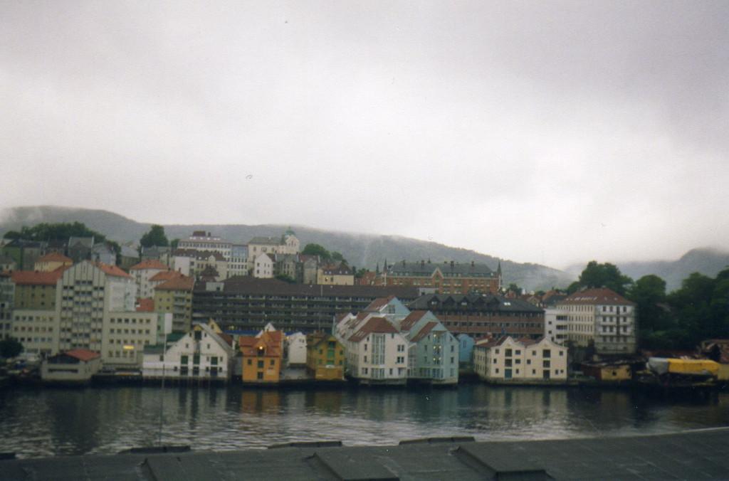 Bergen Staddtansicht