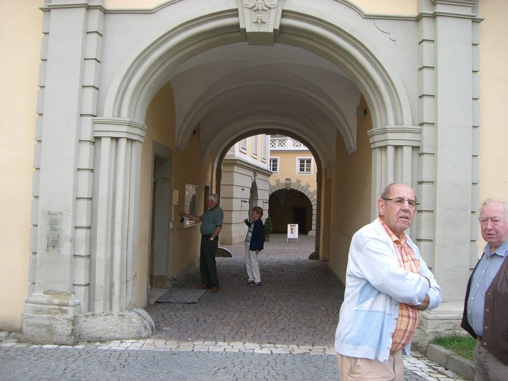 Ellwangen Schloß Eingangstor