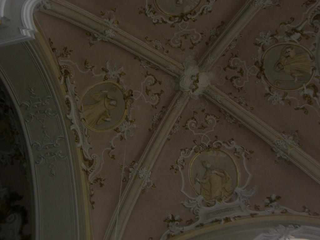 St. Vitus Decke Seitenkapelle