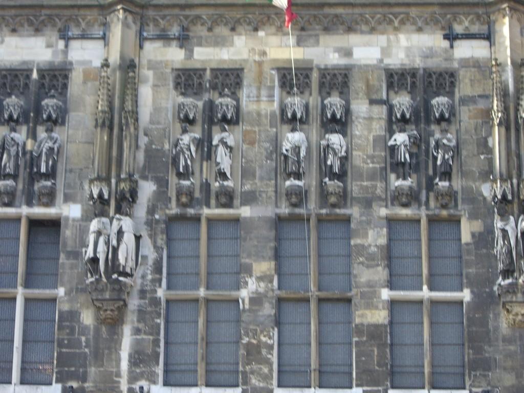Westseite Rathaus