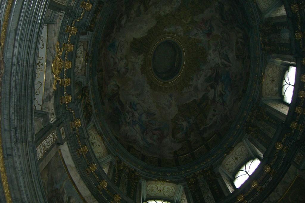 Kuppel der  Kapelle