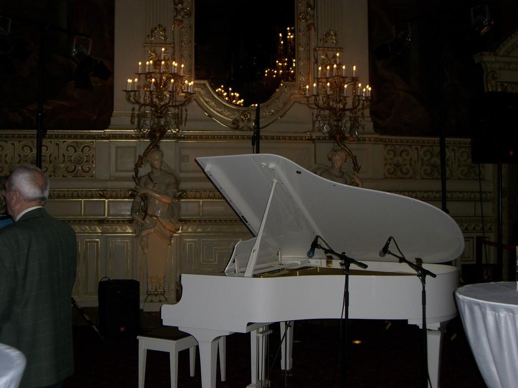 Klavier im Casino