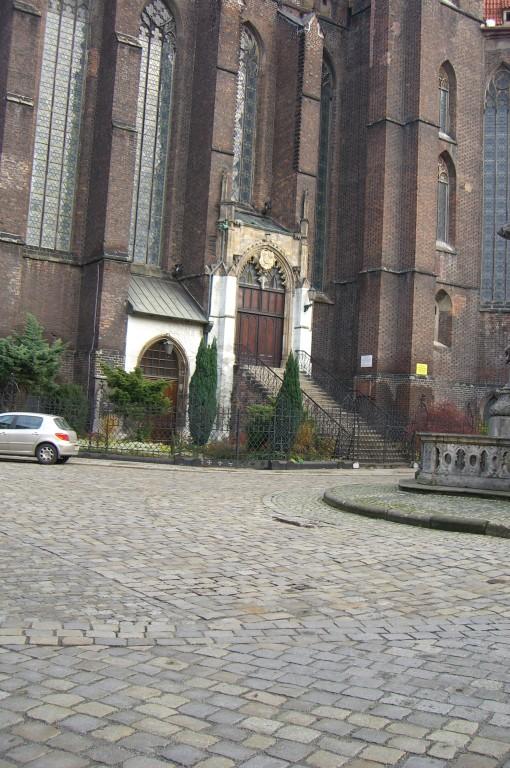 Eingang Gemeinschaftskirche