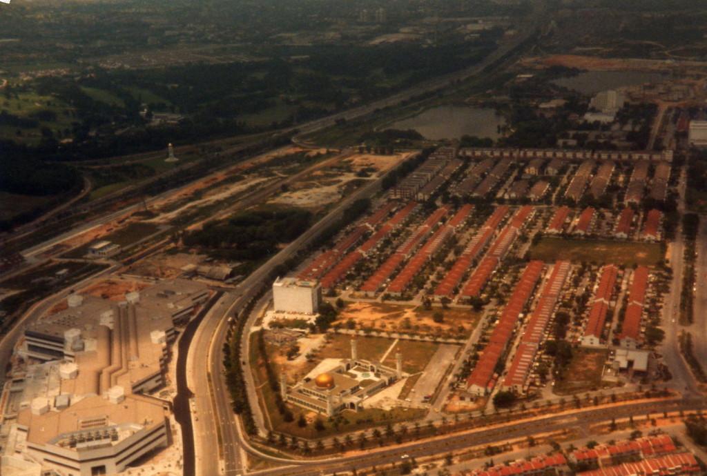 Sicht auf Kuala Lumpur