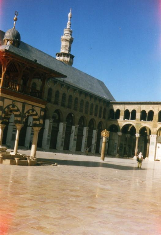 Omajaden Moschee Hof