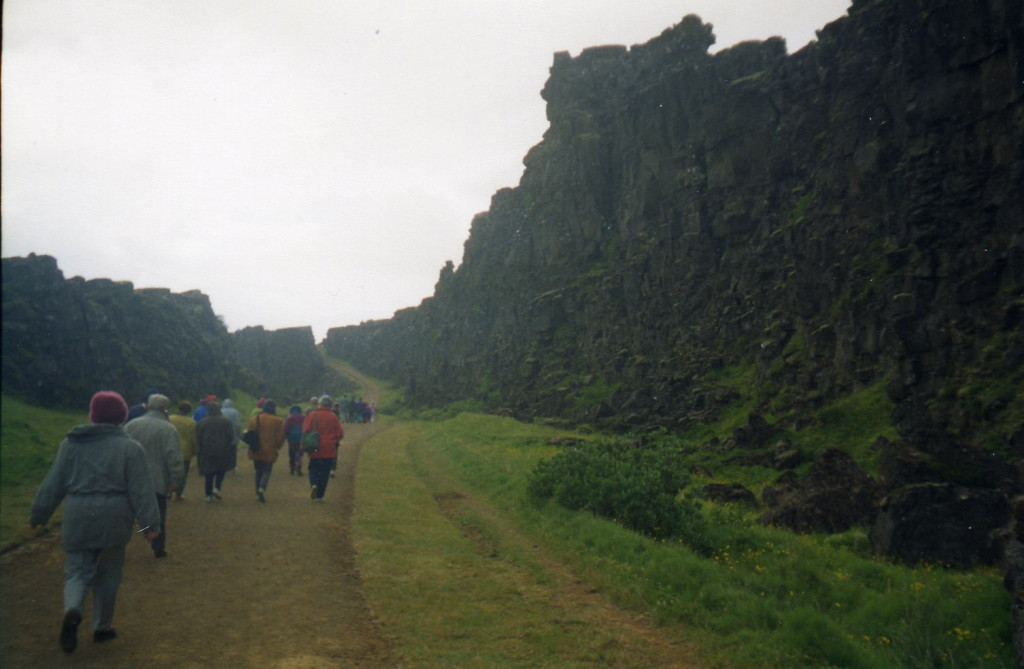 Gang durch Thingvellir