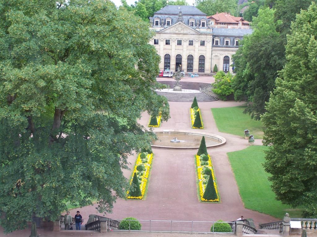 Blick zur Orangerie