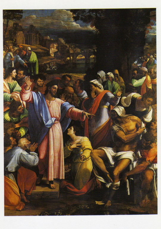 Postkarte Nationalgalery London Sebastiano des Plombu