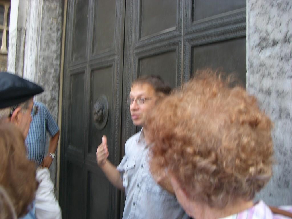 Hauptportal  karolingische Portaltür aus Bronze 8Jahrhundert