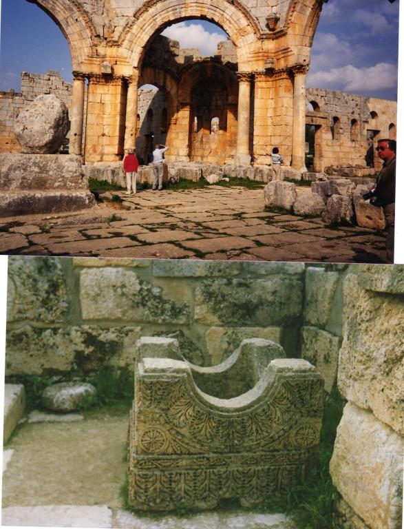 noch ein paar Steine der Basilika