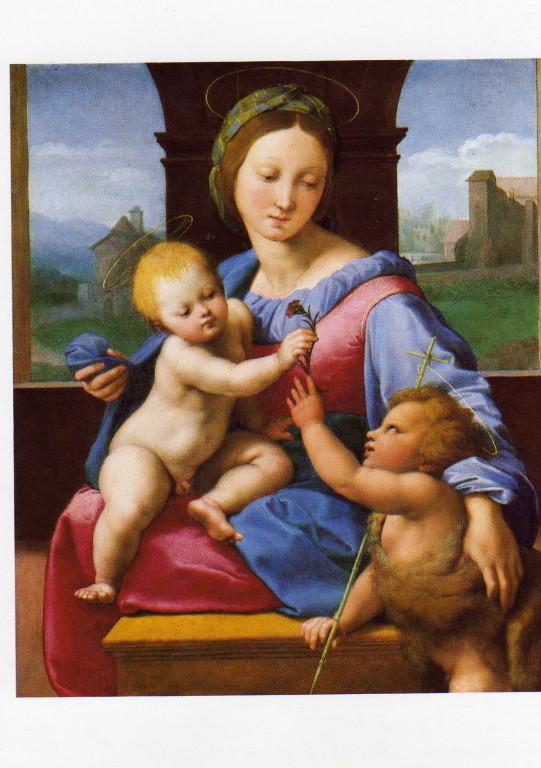 Postkarte Nationalgalery London Raphael