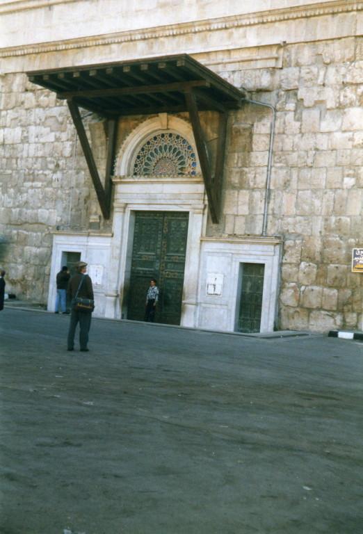 Omajaden Moschee Eingang