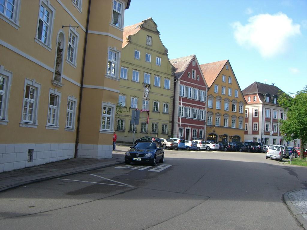 Ellwangen Kirchplatz