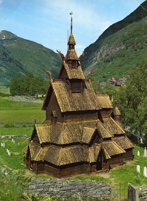 Stabkirche bei Borgund