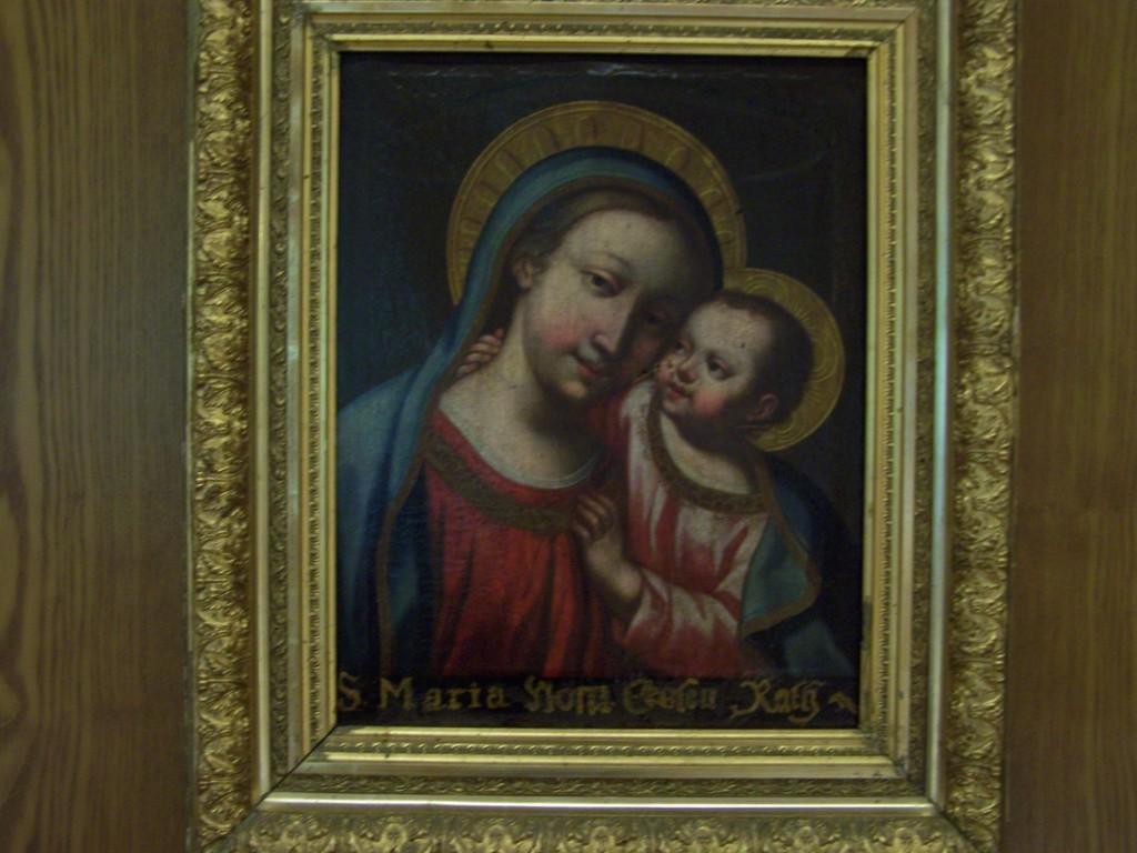 Mutter Gottes im Speisesaal Kloster Untermarchtal