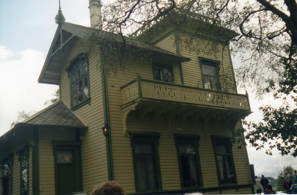 Wohnhaus Nahaufnahme