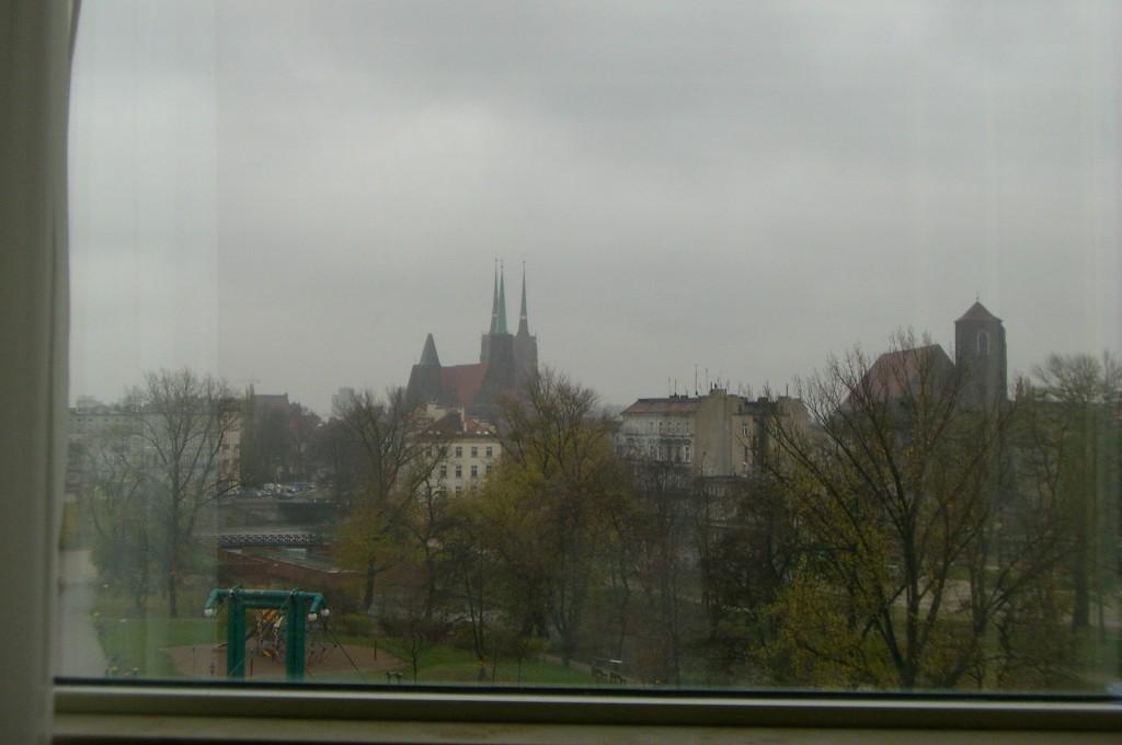 Ein letzter Blick aus dem Fenster