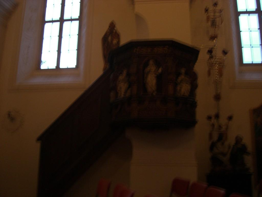 Schlosskapele Kanzel