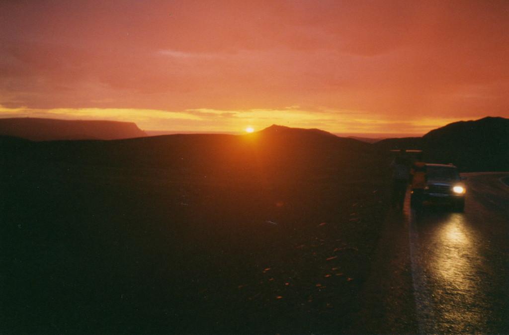 man träumt solange man lebt von diesem Sonnenuntergang